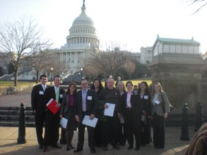 Group at Capitol