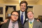Participants from Special Olympics and Best Buddies day on the Hill