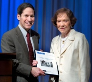 Dr. Frieden and Rosalynn Carter