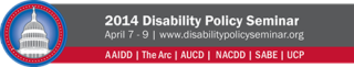 2014 Disability Policy Seminar Logo