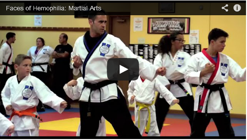 Faces of Hemophilia: Martial Arts