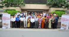 A group of attendees at the India National Consultation on Wheat Flour Fortification