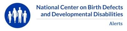 NCBDDD Alerts Logo